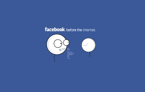 Facebook before the internet 1